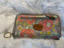 Fossil Oilcloth & Leather Purse, Used Once