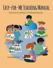Easy-For-Me? Teaching Manual : A Snap for the Teacher... a Cinch for the...