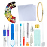 Sewing Tools Embroidery Diy Stitching Set Accessories Punch Needles Cross Stitch
