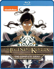 Legend of Korra: The Complete Series, Blue Ray Discs, Nickelodeon Avatar, 4 Book