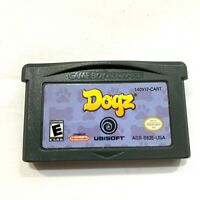 Dogz - Game Boy Advance GBA Game - Tested - Working - Authentic!