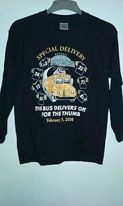 Pittsburgh Steelers Special Delivery Jerome Bettis Youth LS T-Shirt Medium NWT
