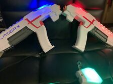 Lot Of 3 Laser X Tag Guns: 1 Double Morph, 2 Laser Fusions & 1 Laser X Tower