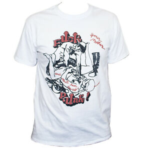 Gay Rude Offensive Punk Rock T shirt Classic Unisex Fit Tee Size S-2XL