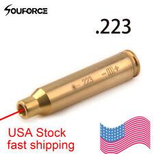 Bore Sighter Sight 223 rem 5.56 Cartridge Red Laser Boresighter W/ Batteries USA
