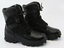 """Rocky Military Police Tactical Boots Men's 8"""" Alpha Force Black Size USA 8M NEW"""