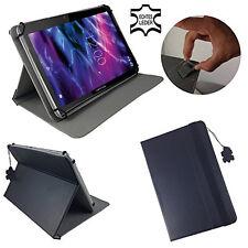 Aldi Medion AKOYA S1219T MD99348 Buchtasche Hülle Tablet Tasche Echtleder Black