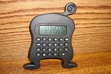 1 Eye Alien Design 8-digit Calculator includes Lr1130 Battery / Black-New