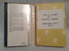 Russell Hoban - Turtle Diary - Uncorrected Proof 1975 DW - George Locke