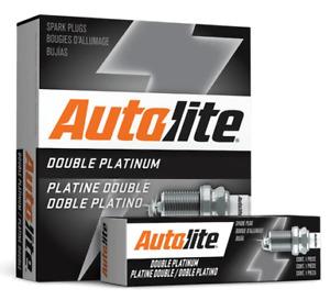 SET OF 4 AUTOLITE DOUBLE PLATINUM SPARK PLUGS FOR MAZDA2 DY DE ZY 1.5L I4