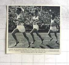 1954 Pb Driver Wins 6 Mile Race, New Games Record, 29 Minutes