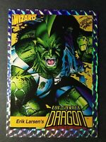 1992 WIZARD ERIK LARSEN'S - THE SAVAGE DRAGON - PRISM CARD #3 - LP