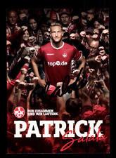 Patrick SALATA Autograph Card 1 FC Kaiserslautern 2017-18 Original Sign + a 174618