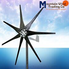 DC output Confederate 500 Watt 12 Volt 7 blade home wind turbine generator