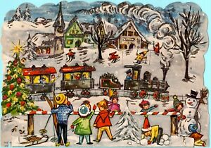 Vintage 3D Haco 260 Advent Christmas Calendar West Germany German
