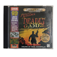Jagged Alliance: Deadly Games (PC, 1996) PC CD-Rom Game Limited Edition