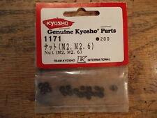 1171 Nut M2 M2.6 (2mm 2.6mm) - Kyosho Hardware Optima Mid Optima Turbo Optima