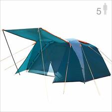 NTK Omaha GT 5 Person 9x9 Foot Outdoor Dome Family Camping Tent 100% Waterproof