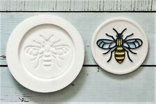 Worker Bee, Insect  Cupcake topper Silicone mould   Ellam Sugarcraft M237
