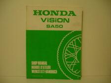 HONDA  SA 50 vision met in   manuel d'atelier revue technique EN FRANCAIS 1988