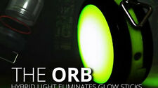 MULE Light Orb Reusable Glow In Dark Hybrid Light Source Keychain USB compatible
