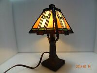 Stained Glass Luminaire Portable Table Lamp