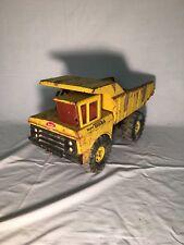 Vintage Metal Tonka Mighty Dump Truck BIG Pressed Steel Toy - Truly Vintage USA!