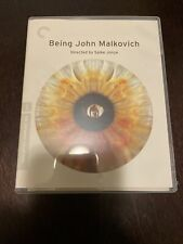Being John Malkovich On Blu-ray! Criterion Edition! Good Condition!