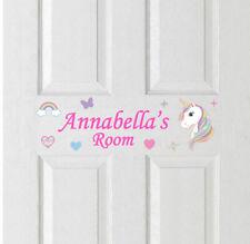 Bedroom Door Name Sticker Boys Girls Room Childrens Kids Personalised Art 92