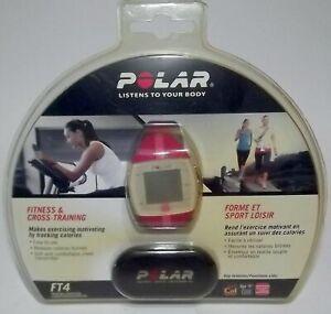 NEW SEALED Polar FT4 Heart Rate Monitor Tracker - Fitness & Cross Training PINK