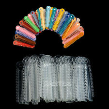 2 Packs Dental Ortho Ligature Ties Clear and multi-color 1014pcs/pack ag