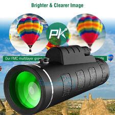 8000M 40X60 mm Super Telephoto Zoom Monocular Telescope Binocular Night Vision