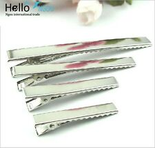 20/50/100/200X 3.2~9.7CM ALLIGATOR HAIR CLIPS ACCESSORIES FOR BOWS BARRETTE