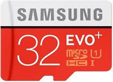 Samsung 32 GB EVO PLUS MicroSD SDHC Class 10 Memory Card WITH ADAPTER