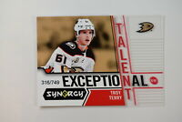 2018-19 18-19 UD Upper Deck Synergy Exceptional Talent #ET-26 Troy Terry /749