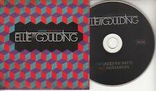 ELLIE GOULDING Under The Sheets 2009 UK 2-track promo CD