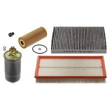 Vw Golf Mk4 1.9Tdi A3 Service Kit Air Oil Fuel Pollen Filter Sump Plug C84 Febi