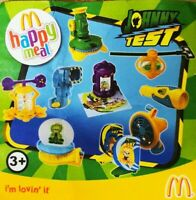 McDonalds Happy Meal Toy 2011 Johnny Test Character Plastic Toys - Various