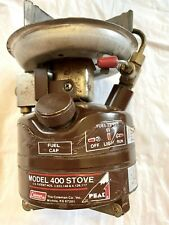 Vintage Peak 1 Coleman Model 400 Stove  05/84 - MADE IN USA