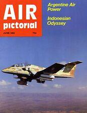 Air Pictorial 1982 June Argentina,Falklands,Eastern Airways Humberside,F-27