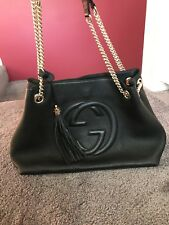 Authentic Gucci Soho black Shoulder bag