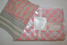 2 PC Pottery Barn Baby Soho Nursery Bedding Set Quilt & Crewel Decorative Sham