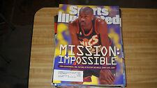 Gary Payton- Stop the Bulls -Sports illustrated 6/10/1996
