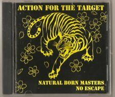 "Natural Born Masters/no escape ""ACTION FOR..."" SPLIT CD Japon oi skinhead skin"