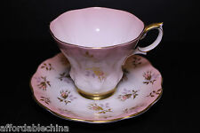 Royal Albert Pink Rose Buds Cup and Saucer