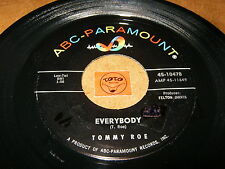 TOMMY ROE - EVERYBODY - SORRY I'M LATE LISA - LISTEN - ROCK N ROLL