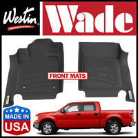 Westin Wade Sure-Fit 2011-2014 Ford F-150 Front 1st Row Floor Mats BLACK