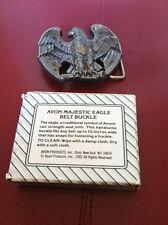 Avon Majestic Eagle Belt Buckle w/ Box 1982