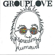 Grouplove - Spreading Rumours  * PROMO STICKER limited edition FREE SHIPPING
