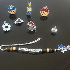 BOOKMARK  BOYS/ /TEACHER /FATHERS/ PERSONALISED  ANY NAME ANY CHARM